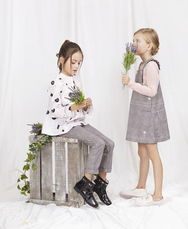 Детская мода для девочек весна-лето 2018 - сарафан-трапеция