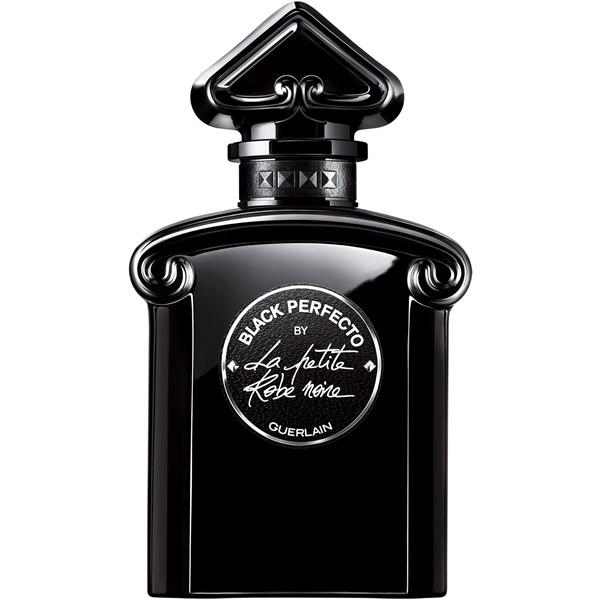 Духи с ароматом вишни - Black Perfecto by La Petite Robe Noire (Guerlain): вишня, миндаль, кожа