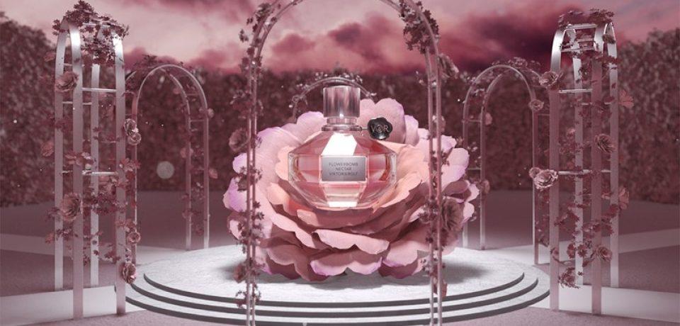 Flowerbomb Nectar – новый женский аромат Viktor&Rolf 2018