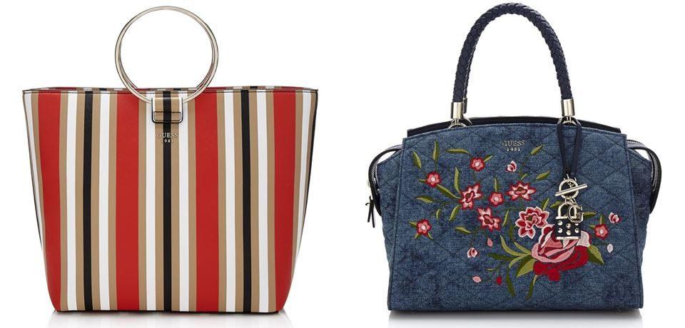 Коллекция сумок Guess весна-лето 2018