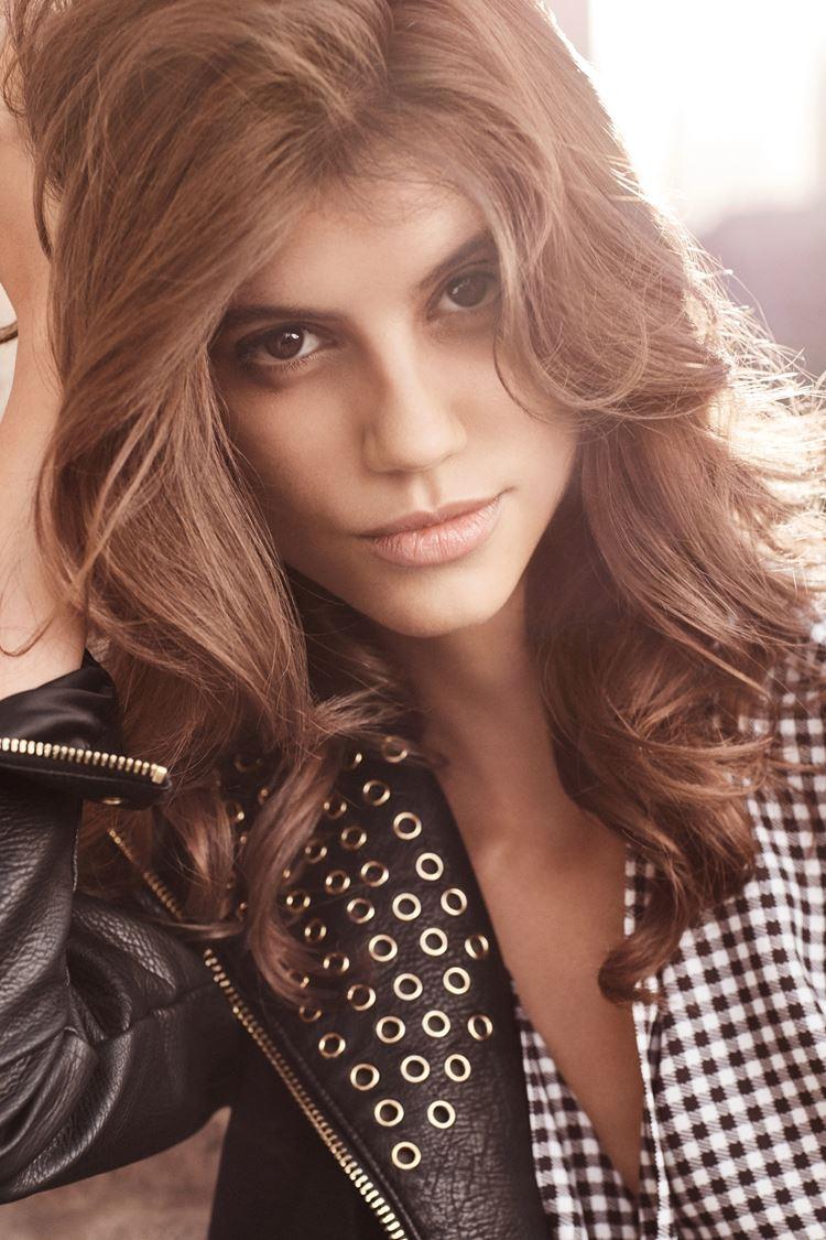 Рекламная кампания Liu Jo весна-лето 2018 - Антонина Петкович – модель из Сербии