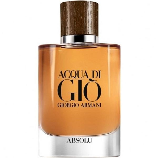 Новые мужские ароматы 2018 - Acqua Di Gio Absolu (Giorgio Armani)