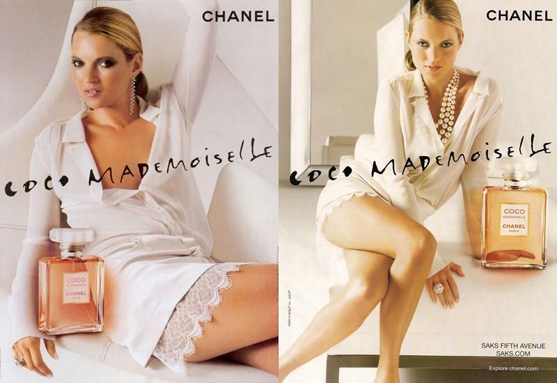 Реклама Chanel Coco Mademoiselle с Кейт Мосс