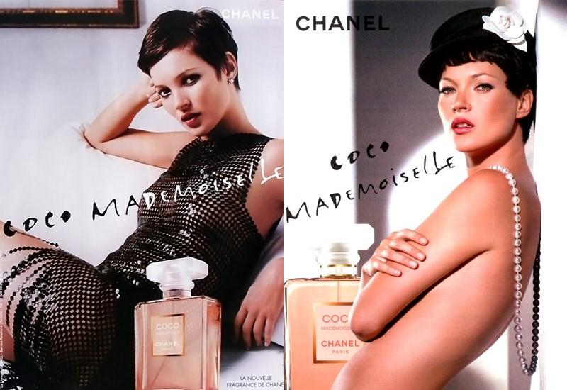 Реклама Chanel Coco Mademoiselle с Кейт Мосс 2005