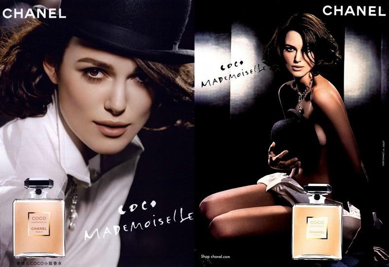 Реклама Chanel Coco Mademoiselle с Кирой Найтли в 2007 году
