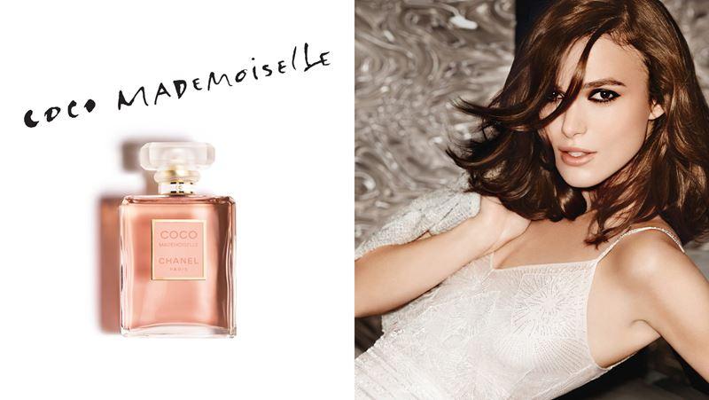 Реклама Chanel Coco Mademoiselle с Кирой Найтли в 2014 году