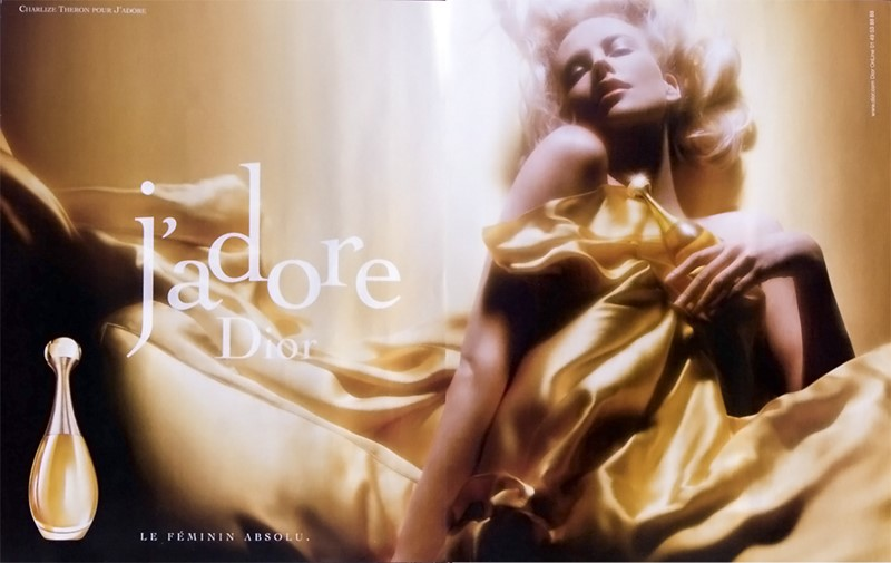 Реклама J'Adore Dior с Шарлиз Терон - 2004 год