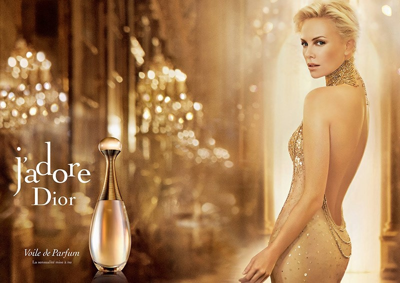 Реклама J'Adore Dior с Шарлиз Терон - 2011 - 2012