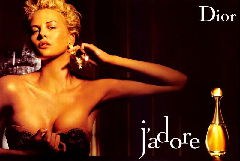 Реклама J'Adore Dior с Шарлиз Терон - 2006 год