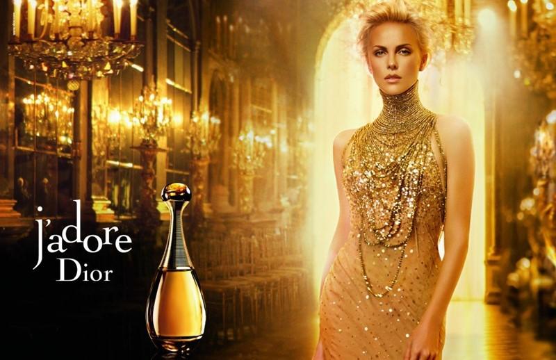 Реклама J'Adore Dior с Шарлиз Терон - 2011