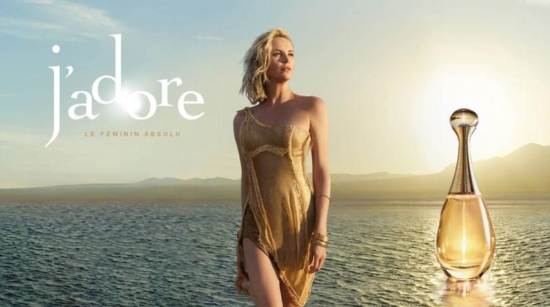 Реклама J'Adore Dior с Шарлиз Терон - 2016 год