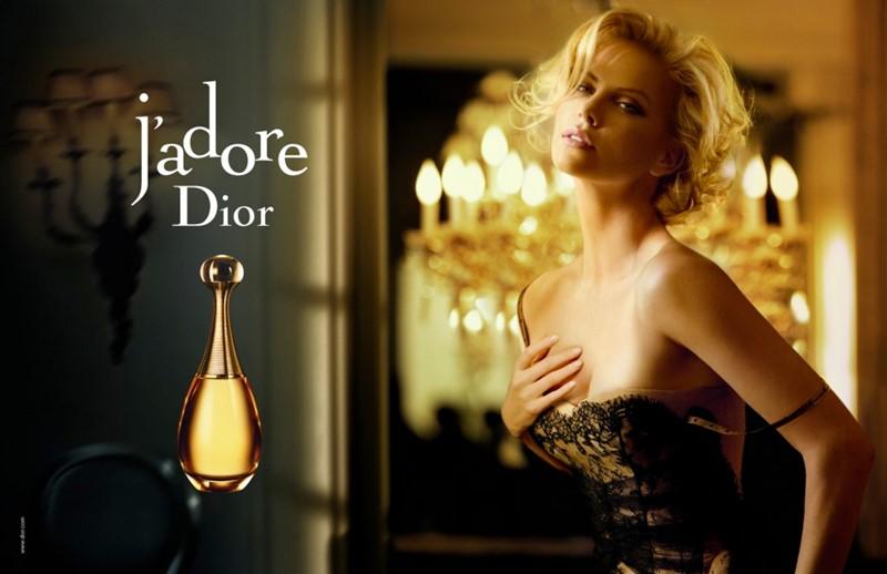 Реклама J'Adore Dior с Шарлиз Терон - 2007-2009