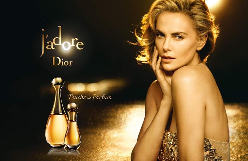 Реклама J'Adore Dior с Шарлиз Терон - 2015 год