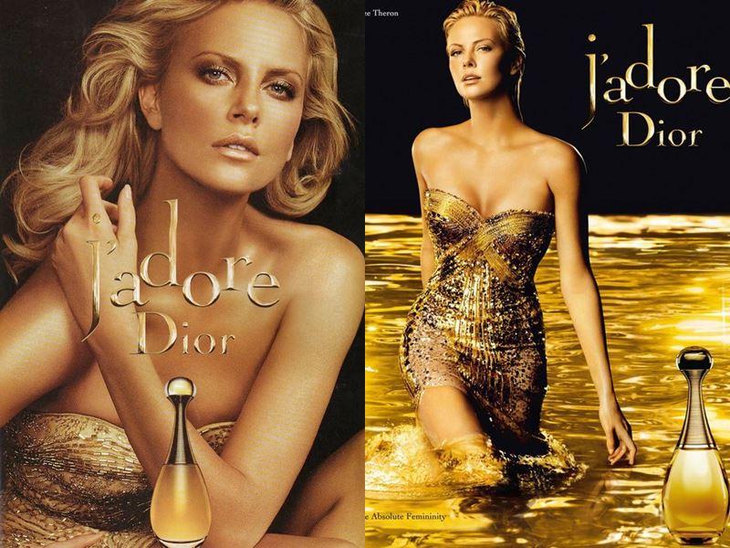 Реклама J'Adore Dior с Шарлиз Терон