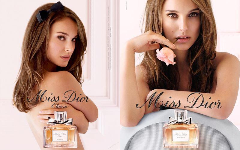 Реклама духов Miss Dior с Натали Портман - 2011 и 2012