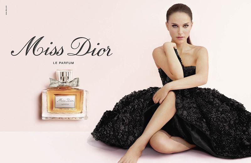 Реклама духов Miss Dior с Натали Портман - Miss Dior Le Parfum (2012)