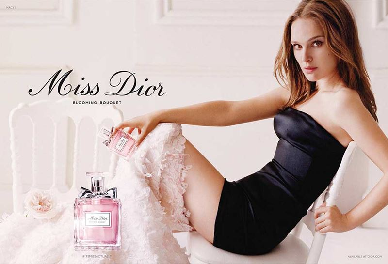 Реклама духов Miss Dior с Натали Портман - Miss Dior Blooming Bouquet Eau de Toilette (2015)