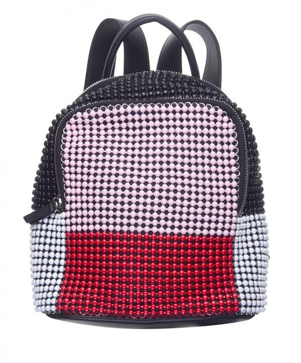 Сумки Topshop весна-лето 2018 - Разноцветный рюкзак с бусинами