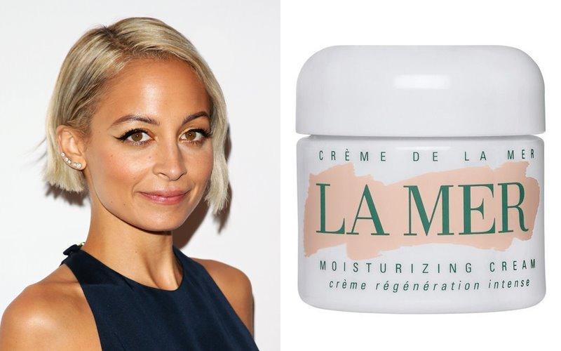 Знаменитости и косметика La Mer - Николь Ричи и регенерирующий увлажняющий Crème De La Mer