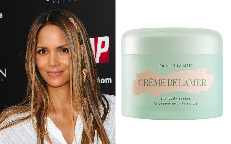 Знаменитости и косметика La Mer - Холли Берри и крем для тела Crème De La Mer The Body Cream
