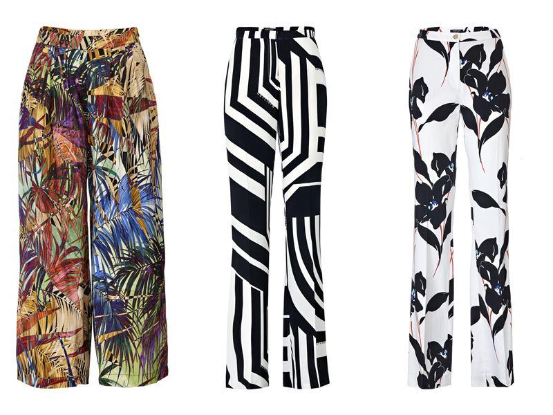 Женская коллекция Marciano Los Angeles весна-лето 2018 - брюки с принтом