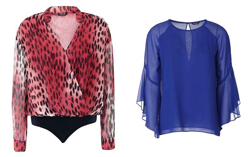 Женская коллекция Marciano Los Angeles весна-лето 2018 - Шифоновые летние блузки