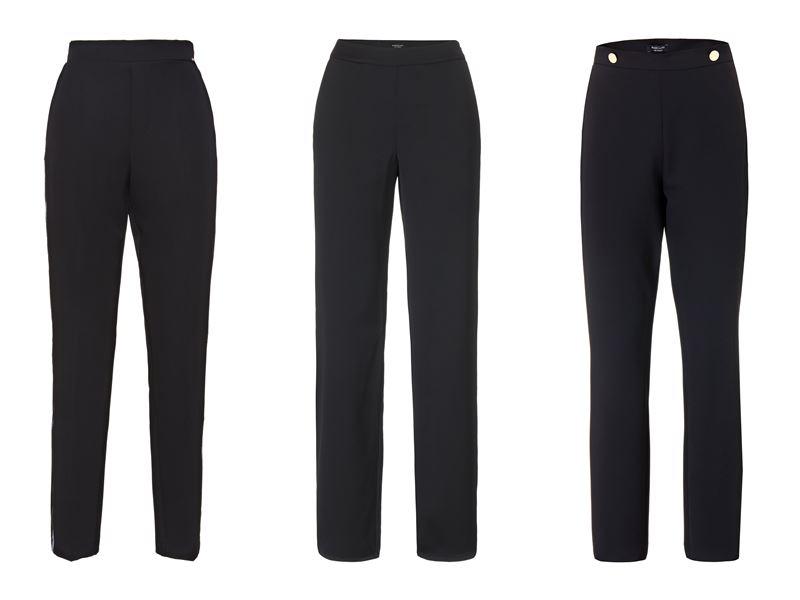 Женская коллекция Marciano Los Angeles весна-лето 2018 - Классические чёрные брюки