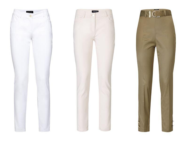 Женская коллекция Marciano Los Angeles весна-лето 2018 - Светлые летние брюки-слим