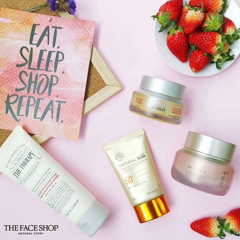 Корейская косметика: лучшие бренды - The Face Shop