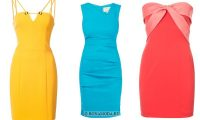 Модные короткие платья 2018