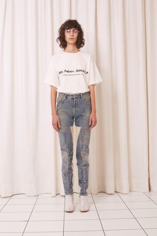 Женские джинсы весна-лето 2018 - Серые протёртые джинсы скинни