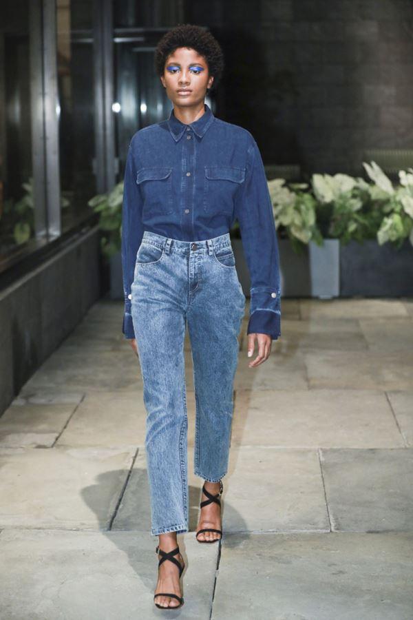 Женские джинсы весна-лето 2018 - Джинсы-варёнки с высокой посадкой