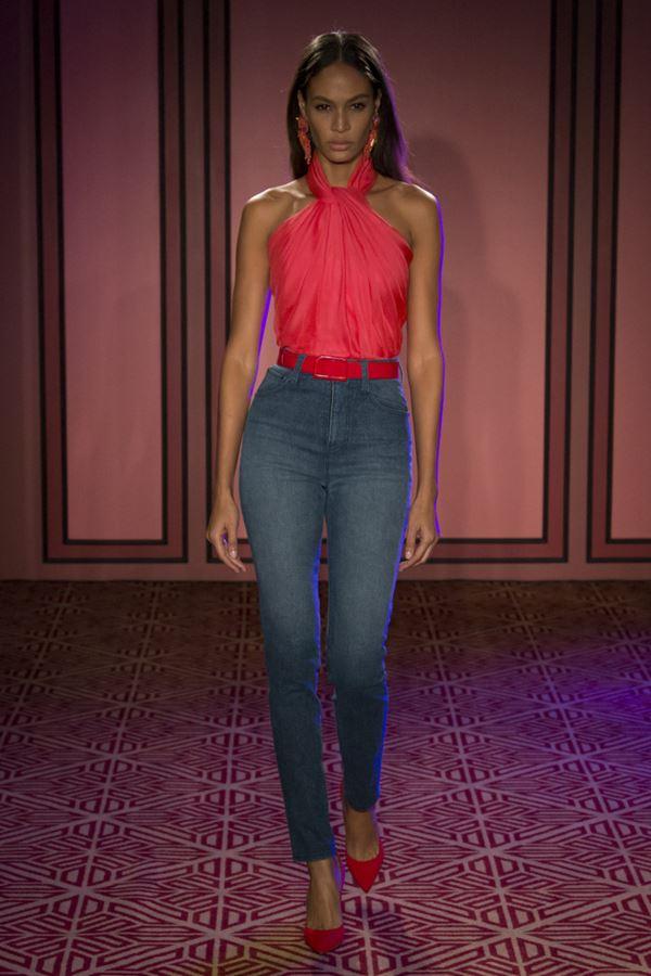 Женские джинсы весна-лето 2018 - Классические облегающие джинсы слим