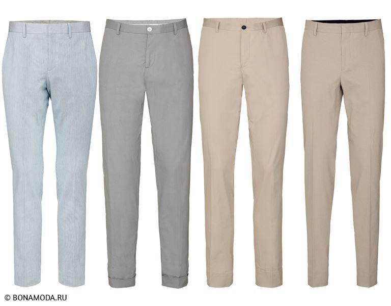 Мужская коллекция Marciano Los Angeles весна-лето 2018 - Светлые мужские брюки