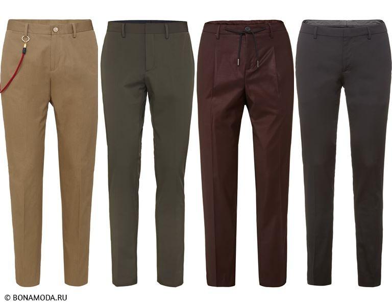 Мужская коллекция Marciano Los Angeles весна-лето 2018 - Мужские брюки зауженного кроя