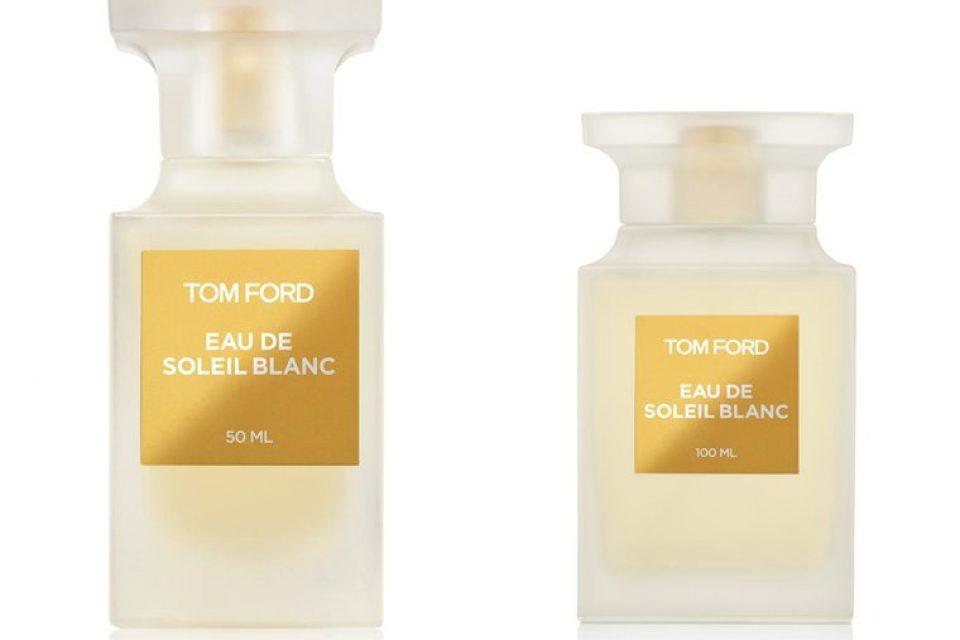 Eau de Soleil Blanc – новый цитрусовый аромат Tom Ford