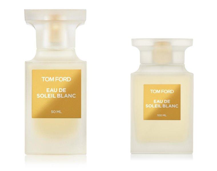 Eau de Soleil Blanc – новый цитрусовый аромат Tom Ford 2018