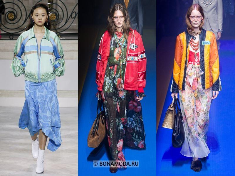 Женские куртки весна-лето 2018 - Модные спортивные куртки
