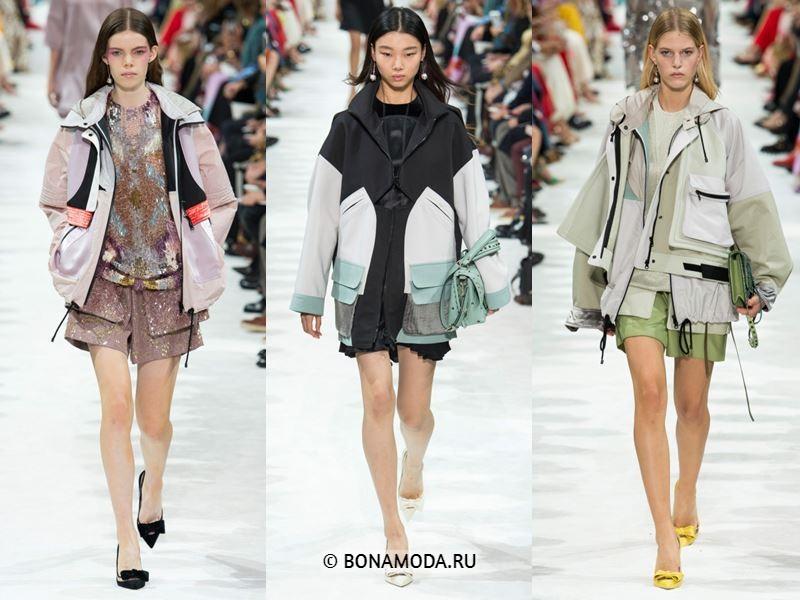 Женские куртки весна-лето 2018 - Весенние куртки-парки