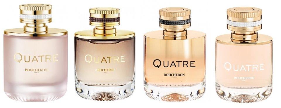 Коллекция ароматов Boucheron Quatre