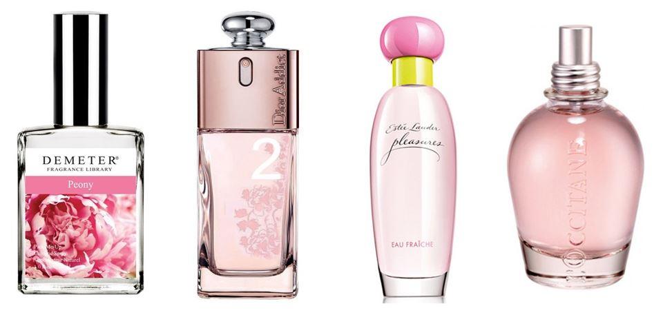 Духи с запахом пиона: лучшие ароматы