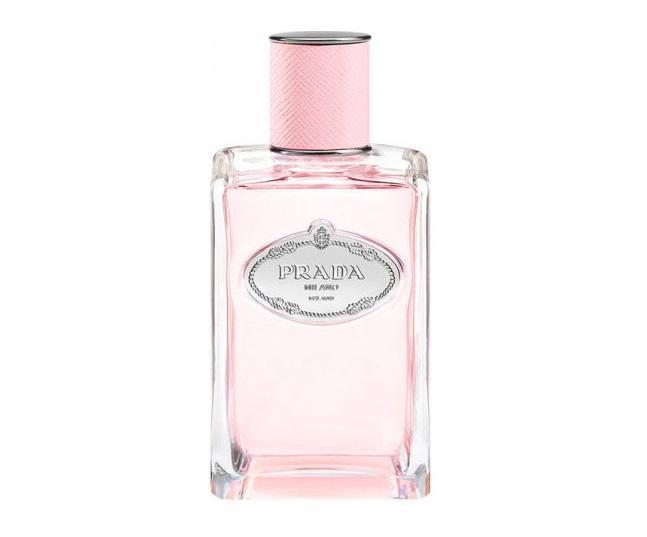 Духи с запахом розы: лучшие ароматы - Infusion de Rose 2017 (Prada): роза и мандарин
