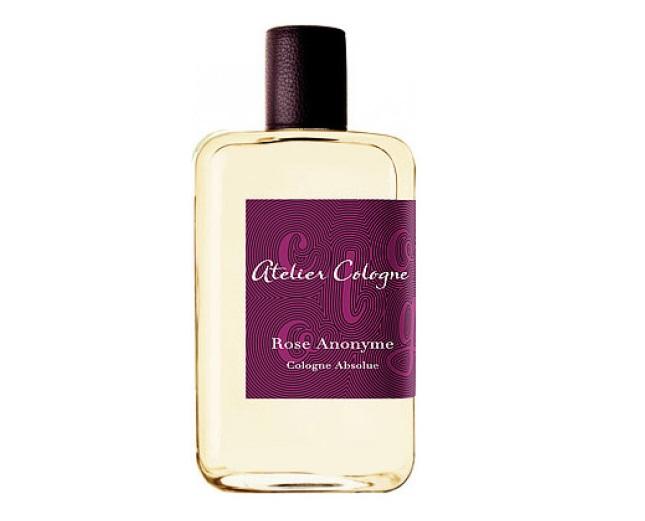 Духи с запахом розы: лучшие ароматы - Rose Anonyme (Atelier Cologne): роза и уд