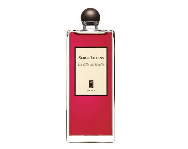 Духи с запахом розы: лучшие ароматы - La Fille de Berlin (Serge Lutens): роза и герань