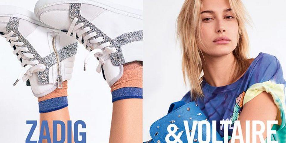 Хейли Болдуин в рекламной кампании Zadig & Voltaire весна-лето 2018