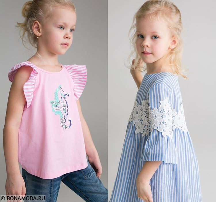 Детская коллекция BAON весна-лето 2018 -  Повседневные летние образы для девочек