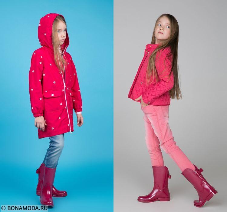 Детская коллекция BAON весна-лето 2018 - образы для девочек с резиновыми сапожками