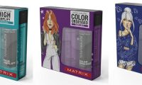 Весенние наборы для волос Matrix Total Results с дизайном от Кати Хотунцевой