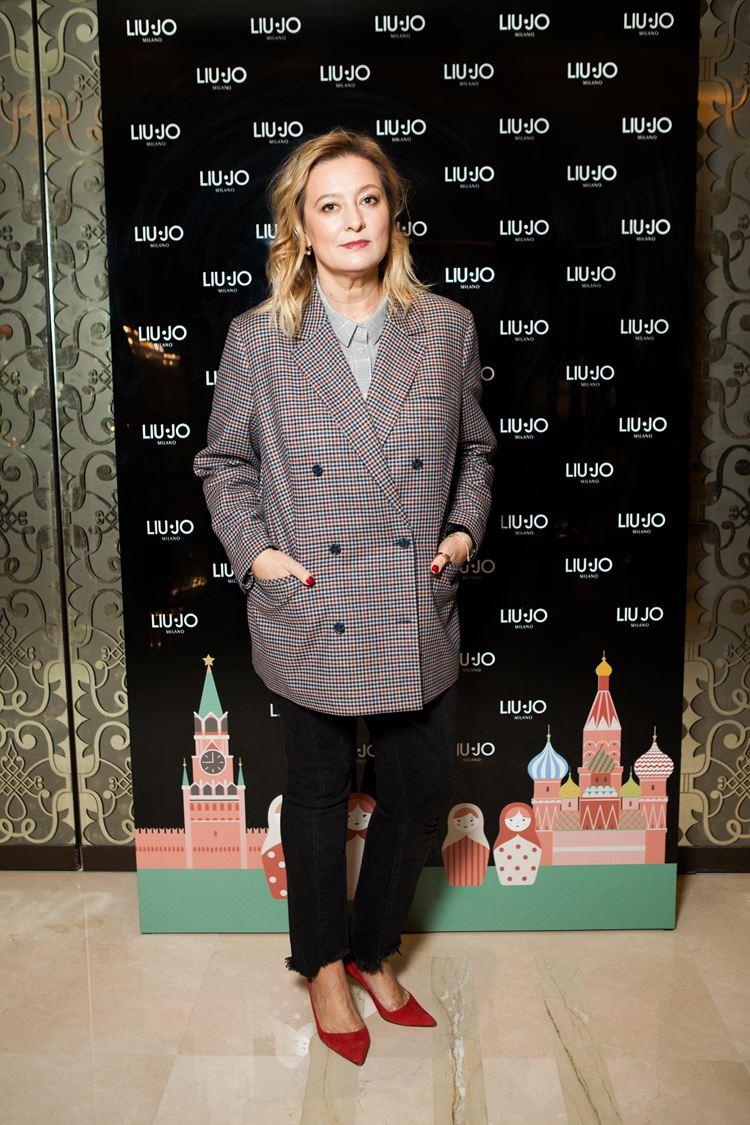 Открытие бутика LIU JO в Атриуме - март 2018 - Главный редактор Vogue Russia Маша Фёдорова