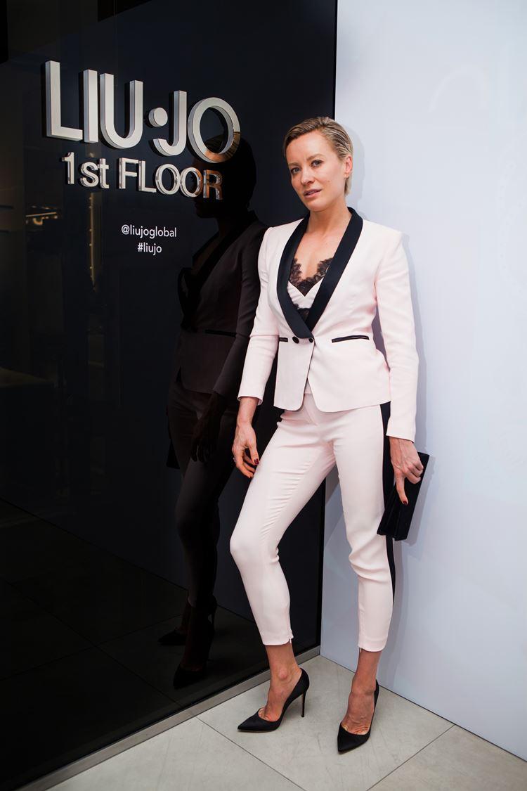 Открытие бутика LIU JO в Атриуме - март 2018 - Фитнес-блогер и светская львица Наталья Давыдова